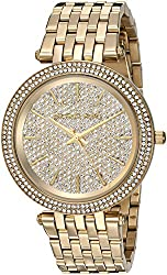 Michael Kors Women's MK3438 Darci Analog Display Analog Quartz Gold Watch