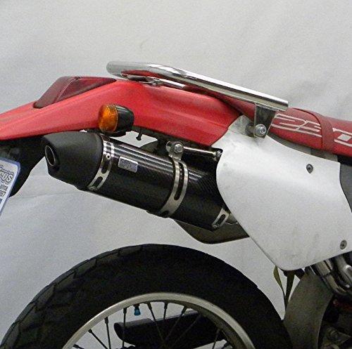 ウイルズウィン XR250(MD30) スリップオンマフラー ユーロタイプ ブラックカーボン
