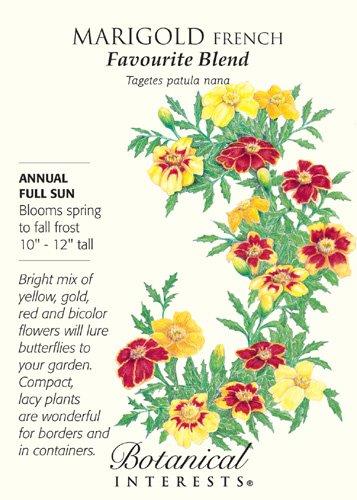 French Marigolds Favorite Blend Seeds