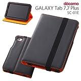 docomo GALAXY Tab 7.7 Plus(SC-01E)専用 フラップタイプ・レザージャケット ブラック RT-SC01ELC1/B