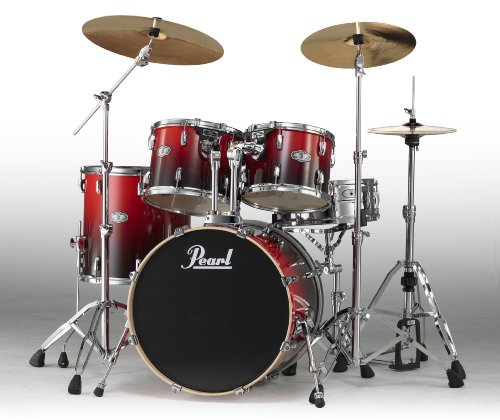 pearl-vision-birch-vbx905pk-c232-shell-pack-ruby-fade-cymbals-and-hardware-not-included