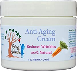 Loving Naturals Anti Aging Cream with Alpha Lipoic Acid and Carrot Seed Oil