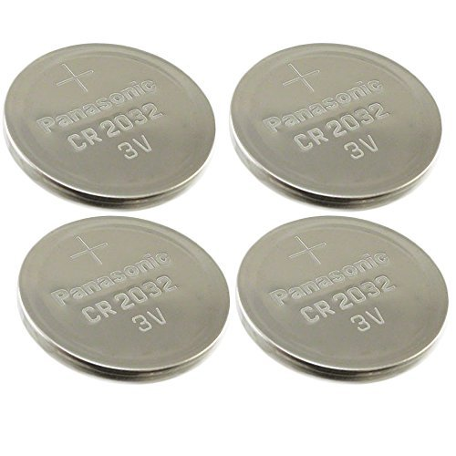 [ 4 pcs ] — Panasonic Cr2032 3v Lithium Coin Mobile Battery Dl2032 Ecr2032