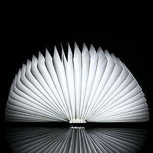 Amazon.com: E Support New Design LED Wooden Folding Book Lamp