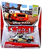 Disney Pixar Cars, WGP (World Grand Prix) Die-Cast, Darrell Cartrip with Headset #14/17, 1:55 Scale