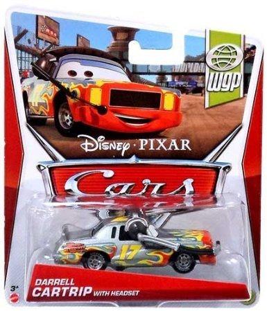 Disney/Pixar Cars, 2013 WGP, Darrel Cartrip with Headset Die-Cast Vehicle