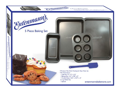 Entenmann's 5 Piece Bakeware Set