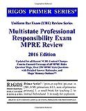 img - for Rigos Primer Series Uniform Bar Exam (UBE) Review Series MPRE: 2016 Edition book / textbook / text book