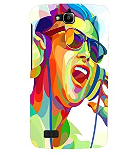 PRINTSHOPPII MUSIC Back Case Cover for Huawei Honor Holly::Honor Holly