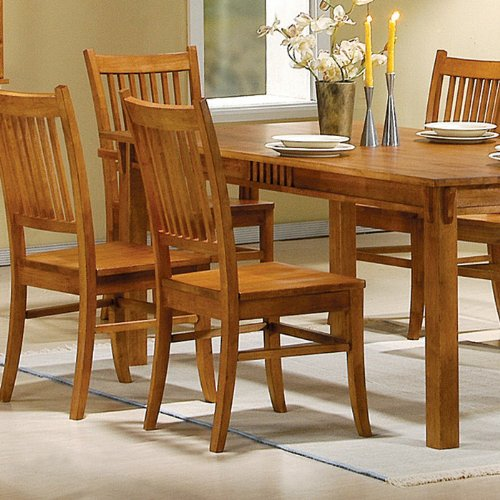Stained Timber Heavy Duty Chairs