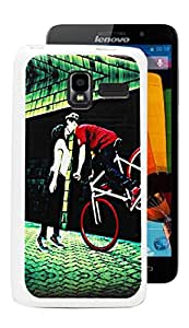 ECellStreet Exclusive Soft Back Case Cover Back Cover ForLenovo A850+ A850 + - Design 1
