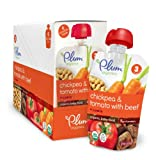 Plum Organics Baby Stage 3 Meals, Chickpea, Tomato with Beef and Cumin, 4 Ounce (Pack of 6)