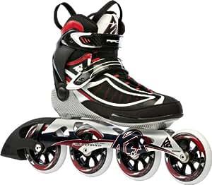 K2 Training Skate Radical 100 Roller Homme Noir 38