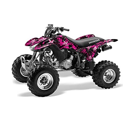 Racing Honda TRX 400EX 1999-2007 ATV Quad Graphc Kit - Northstar: Pink