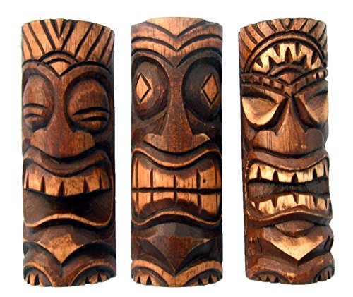Set3-6-Inch-Tiki-Statues-Tiki-Bar-Decor