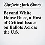 Beyond White House Race, a Host of Critical Issues on Ballots Across the U.S. | Adam Nagourney