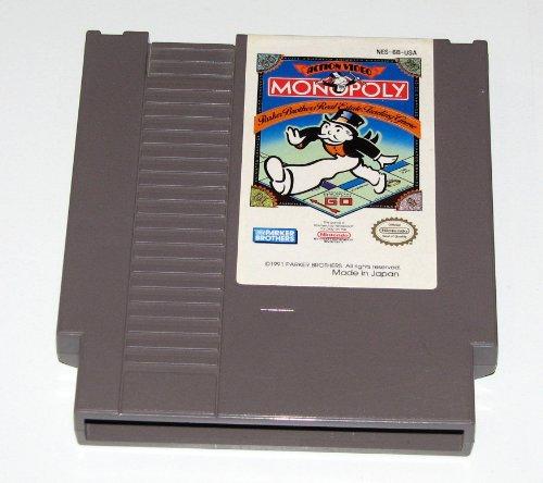 Monopoly - Nintendo Nes front-260062