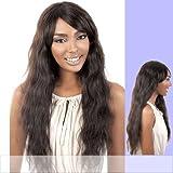 MOTOWN TRESS Brazilian Virgin Remy 100% Human Hair Wig - HBR-BRAZIL - #NATURAL (#NATURAL)