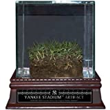 Authentic Yankee Stadium Freeze Dried Grass Sod With Glass Display Case