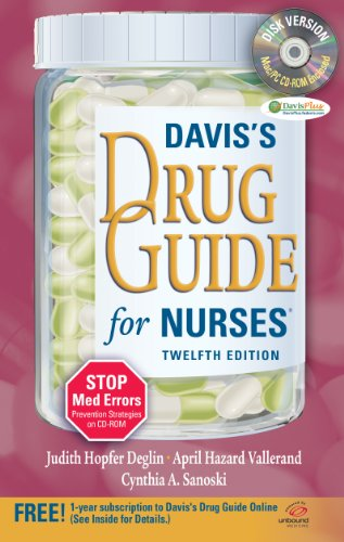 Davis's Drug Guide for Nurses + Resource Kit CD-ROM