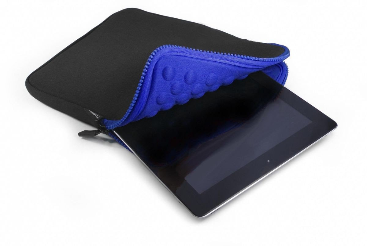Tuff-Luv Armour-Prene - Funda para tablet y lector de libros electrónicos negro/azul negro/azul Apple iPad Mini / Kindle Fire HD 7  Informática revisión y descripción más