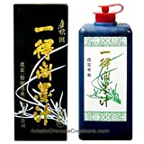 1 X Chinese Calligraphy Black Ink (yi de ge mo zhi) 100G (Color: Black)