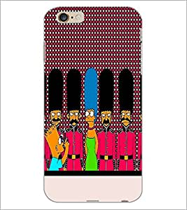 PrintDhaba Cartoon D-3745 Back Case Cover for APPLE IPHONE 6 PLUS (Multi-Coloured)