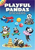 Playful Pandas Stickers (Dover Little Activity Books Stickers)