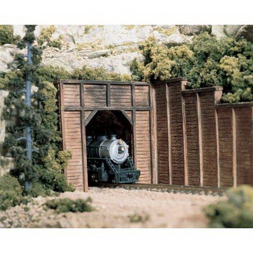 Woodland Scenics C1254 Timber Single Tunnel Portal
