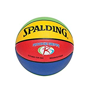 Spalding Rookie Gear Basketball - Multi-Color - Youth Size
