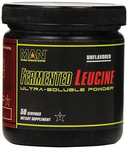 MAN Sports Fermented Leucine Nutrition Supplement, Unflavored, 100 Gram