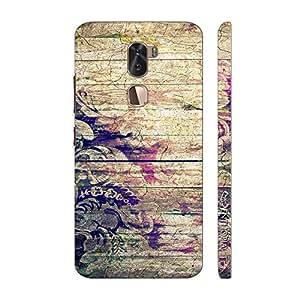 Enthopia Designer Hardshell Case Flowery Wood Back Cover for LeEco Cool 1