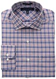 Tommy Hilfiger Mens Regular Fit Non Iron Suiting Plaid