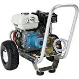 Pressure Pro E3027HC Heavy Duty Professional 2,700 PSI 3.0 GPM Honda Gas Powered Pressure Washer With CAT Pump (CARB Compliant)