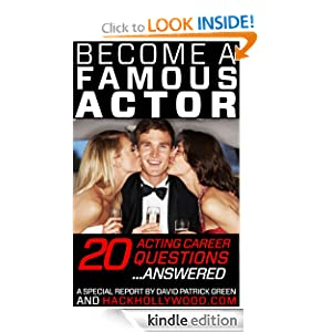 be e a famous actor 20 acting career questions
