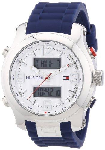 Tommy Hilfiger Herren-Armbanduhr Cool Sport XL Analog - Digital Quarz Silikon 1790960 thumbnail