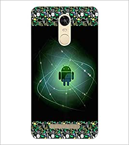 PrintDhaba Android D-2511 Back Case Cover for XIAOMI REDMI NOTE 3 (Multi-Coloured)