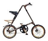 STRIDA(ストライダ) 18インチ折りたたみ自転車 内装3段変速 アルミフレーム STRIDA EVO18-Limited ブラウン 31926