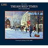 Lang January to December, 13.375 x 24 Inches, Perfect Timing Treasured Times 2015 Wall Calendar by D.R. Laird (1001769)