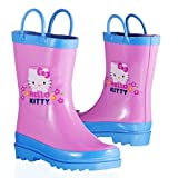 Sanrio Hello Kitty Girl's Pink Rain Boots (Toddler/Little Kid)