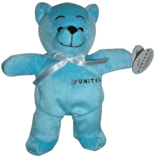 Daron Toys United Airlines Plush Teddy Bear