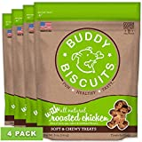 Buddy Biscuits Soft & Chewy Treats with Roasted Chicken - 6 oz. (4 PACK)
