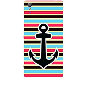 Skin4gadgets Anchor in beautiful Neapolitan Pattern 36 Phone Skin for XPERIA T3 (M50w)