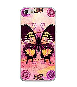 Printvisa Assorted Butterfly Pattern Back Case Cover for Apple iPhone 4::Apple iPhone 4S