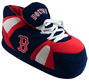 Boston Red Sox UNISEX High-Top Slippers by Comfy Feet