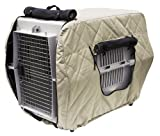 Classic Accessories 60142-SC Heritage Insulated Dog Kennel Jacket, Tan, Large