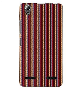 PrintDhaba Pattern D-6080 Back Case Cover for LENOVO A6000 PLUS (Multi-Coloured)