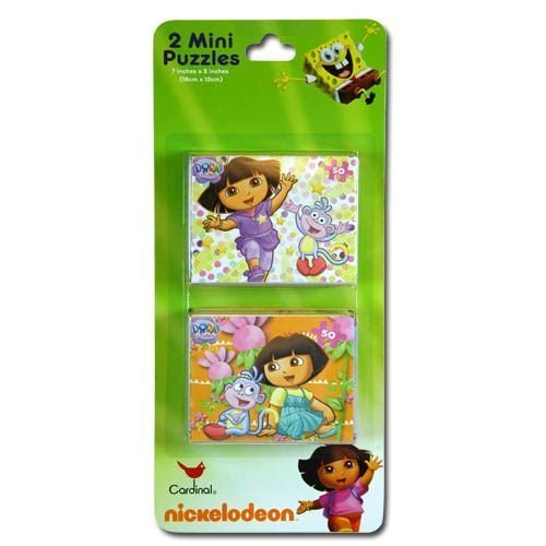 Dora The Explorer 2pk Mini Puzzles