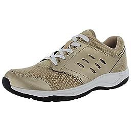 Vionic Venture Womens Mesh Athletic shoe Gold - 7 Medium