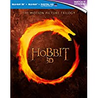 The Hobbit Trilogy [Blu-ray 3D + Blu-ray] [2015] [Region Free]